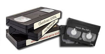 Video tape and film transfer sale.