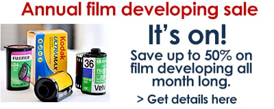 Film developing sale..